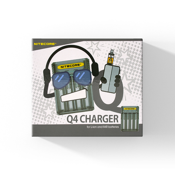 Nitecore Opladers – Vaporizer & Liquid Shop